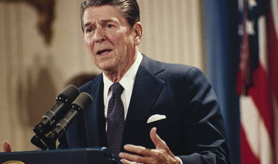 Ronald Reagan and Capitalist Racism