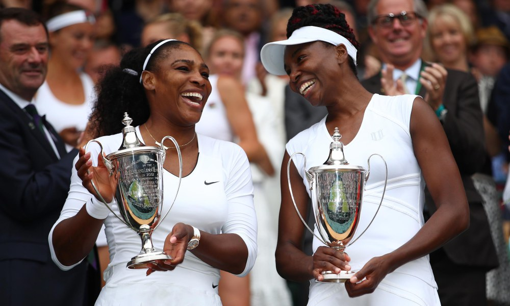 Serena, Venus and Aretha